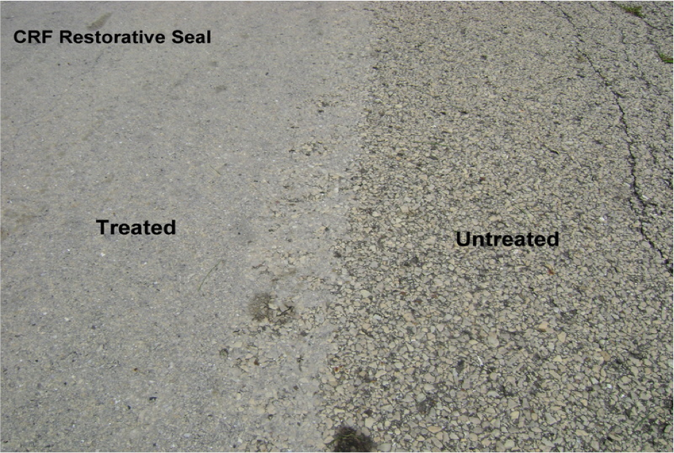 Restorative Seal Treated vs. Untreated