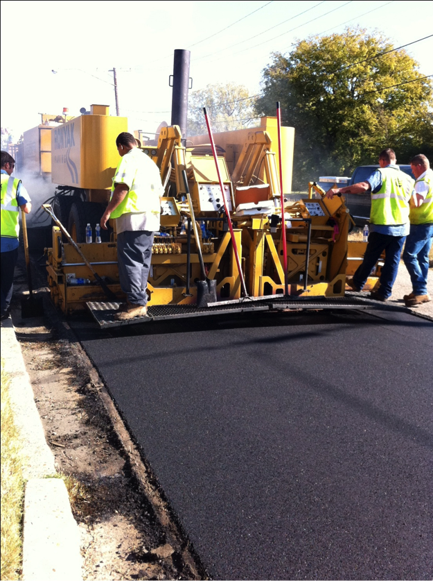 Cyclogen HIR makes asphalt look new again.
